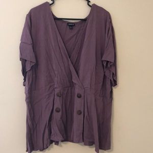 NWOT V-neck blouse